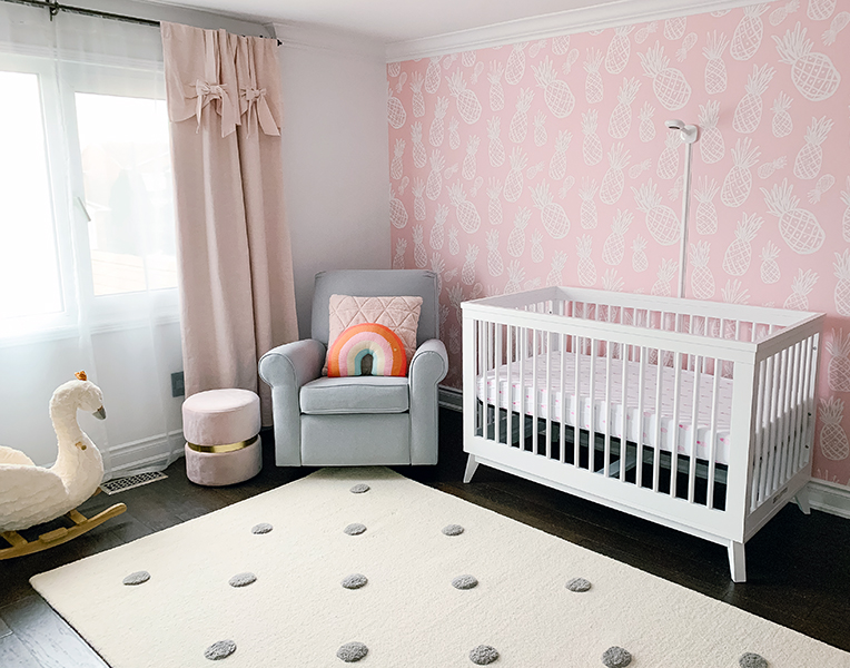 Baby Girl Nursery Tour – Happily Ever Duo: My Perfectly Imperfect Life